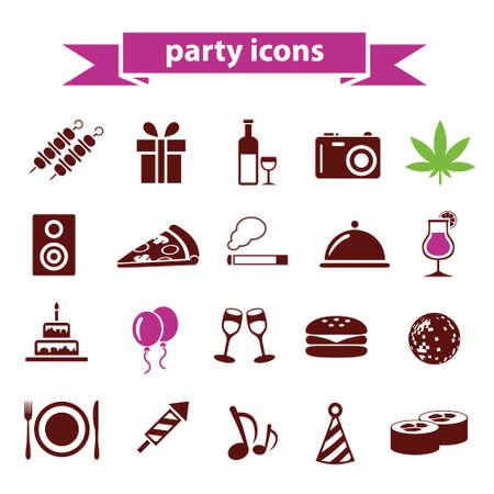 icônes des partis