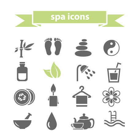 swimming candles: icone spa