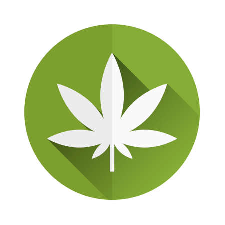 marijuana leaf: weed icon