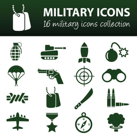 vehicle graphics: military icons
