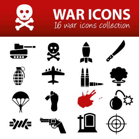 fallschirmj�ger: Krieg Icons Illustration