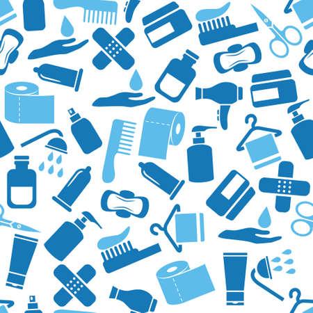 condom: hygiene seamless pattern