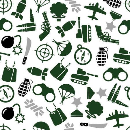 fallschirmj�ger: Milit�r nahtlose Muster Illustration