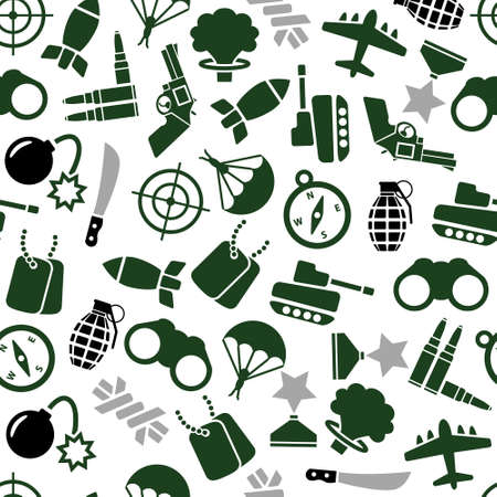 nuclear weapons: military seamless pattern