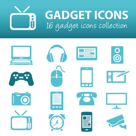 gadget: gadget icons Illustration
