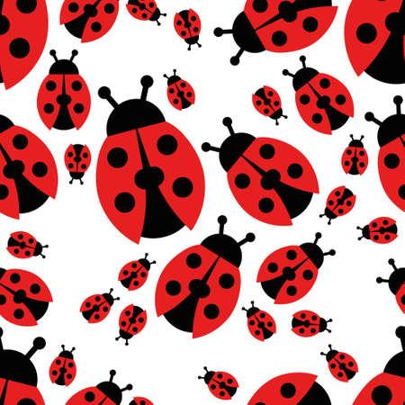 ladybird: ladybird seamless pattern