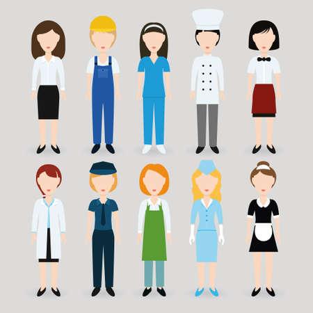 femme policier: les femmes profession
