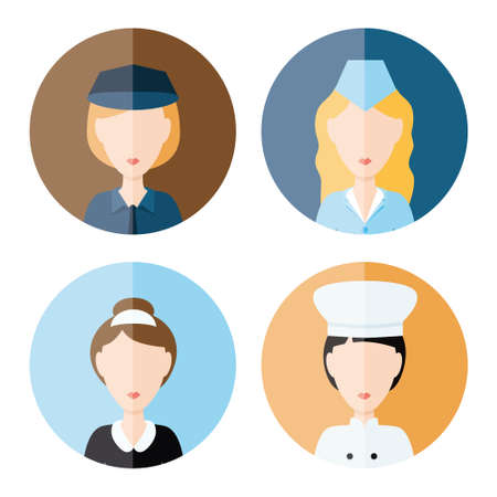matron: women profession icons