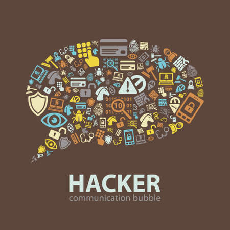 punishable: hacker communication bubble