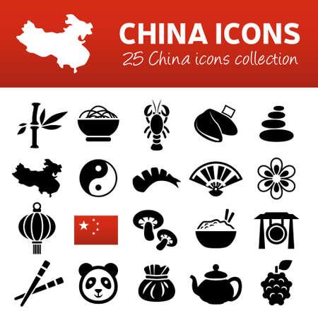 chinese tea: china icons