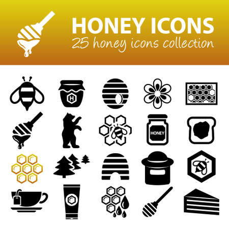 honey: honey icons