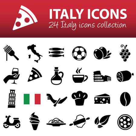 sardine: italien Symbole Illustration