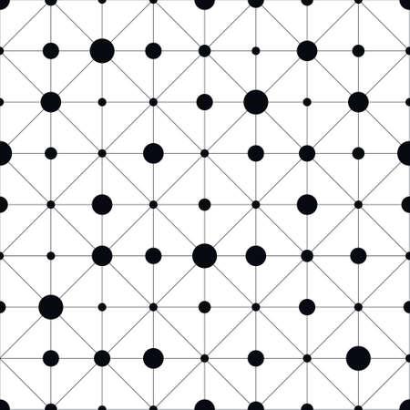 discreto: patrón transparente geométrica