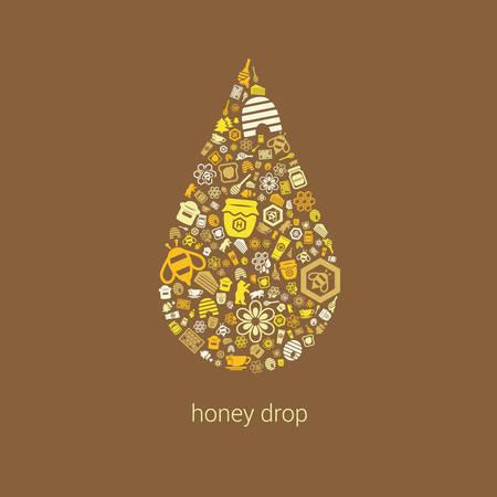 dross: honey icons in drop