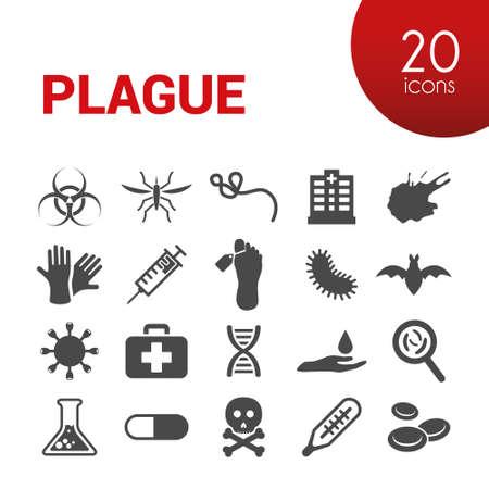plague: plague icons