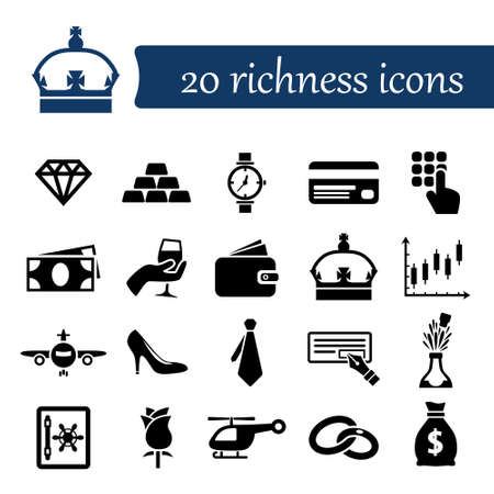 richness: richness icons