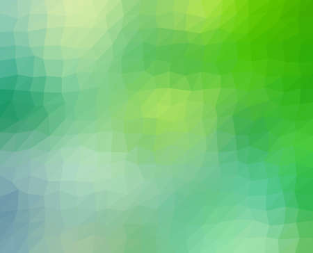 abstract green: abstract geometric background in blue and green