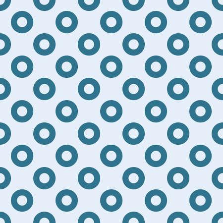 blue circles seamless pattern