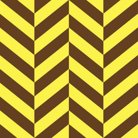 Yellow and brown parallelogram seamless pattern. Иллюстрация