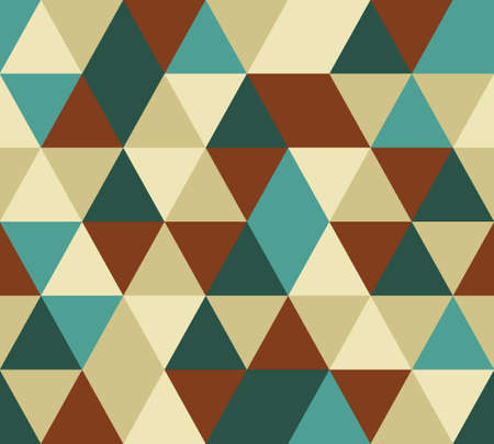 Vector triangle seamless pattern. Иллюстрация