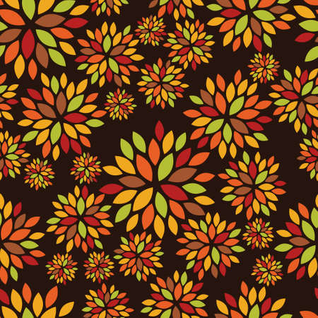 Pattern with autumn color.