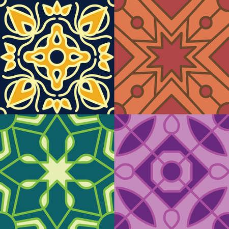 moroccan seamless patterns