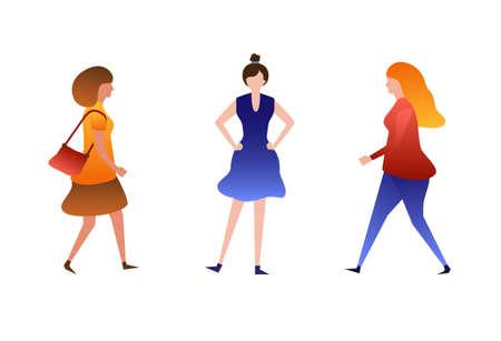 set of tree vector womens