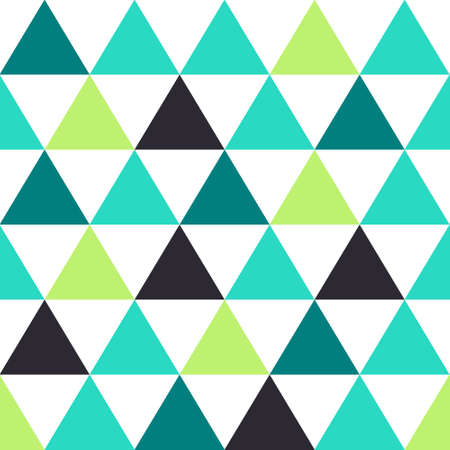 seamless background pattern with triangles