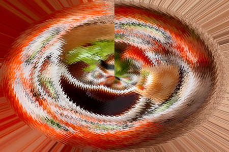 Abstract Spiral background. Stock Photo