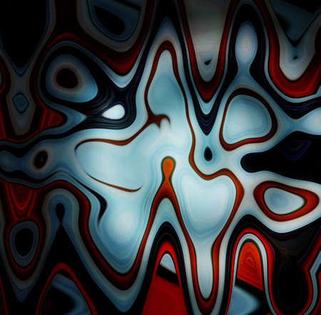 Square abstract background image with surrealistic surface. Bright colors, recurring storyline.