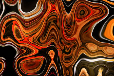 gold safari background from original fantastic patterns of abstract pictures Stock Photo