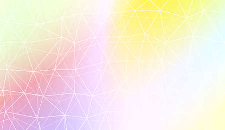 Abstract mosaic backdrop with triangles, line. Design for flyer, wallpaper, presentation, paper. Vector illustration. Creative gradient color