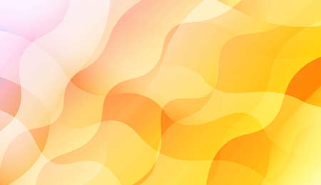 Wave Abstract Background. For Flyer, Brochure, Booklet And Websites Design Vector Illustration with Color Gradient