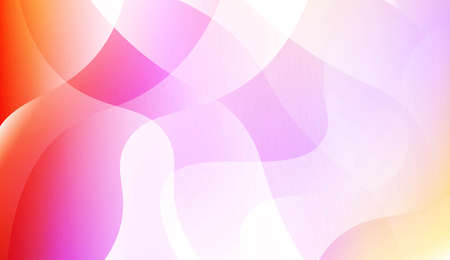 Hologram Gradient Geometric Wave Shape. Abstract background. For Template Cell Phone Backgrounds. Vector Illustration