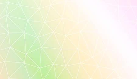 Blurry triangle texture. For wallpaper, presentation background, interior design, fashion print. Vector illustration. Creative gradient color Illustration