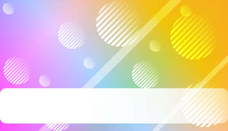 Blurred Background, Smooth Gradient Texture Color with Line, Circle. For Your Design Wallpaper, Presentation, Banner, Flyer, Cover Page, Landing Page. Vector Illustration