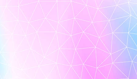 Decorative background with triangles. Template for your banner. Vector illustration. Creative gradient color