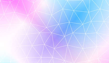 New gradient color illustration in a polygonal style. Design for flyer, wallpaper, presentation, paper. Vector illustration. Creative gradient color Illustration
