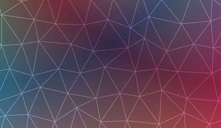 Modern pattern in triangles style. Decorative design For interior wallpaper, smart design, fashion print. Vector illustration. Blurred Background, Smooth Gradient Texture Color Illustration