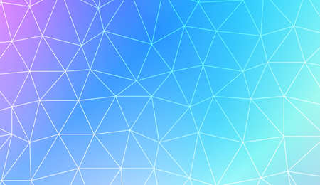 Decorative pattern with triangles style. Template for wallpaper, interior design, decoration, scrapbooking page. Vector illustration. Creative gradient color