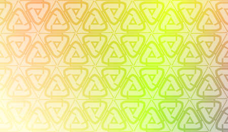Pattern with geometric shape background. Vector illustration. Template for wallpaper, interior design, decoration, scrapbooking page. Gradient color.