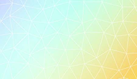 Modern elegant background with polygonal elements. For interior wallpaper, smart design, fashion print. Vector illustration. Creative gradient color