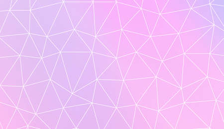 Hipster pattern with polygonal elements. For your home interior wallpaper, fashion print. Vector illustration. Creative gradient color Illustration