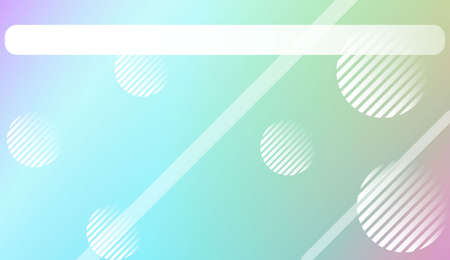 Blur Sweet Dreamy Gradient Color Background with Line, Circle. For Abstract Modern Screen Design For Mobile App. Vector Illustration. 矢量图像