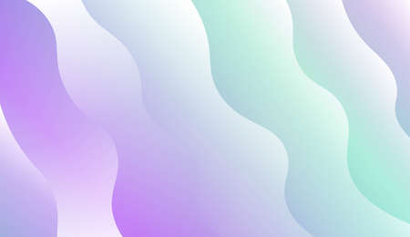 Futuristic Background With Color Gradient Geometric Shape. For Design Flyer, Banner, Landing Page. Vector Illustration with Color Gradient