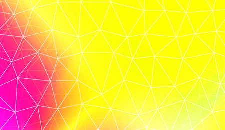 Modern elegant background with polygonal pattern with triangles elements. For interior wallpaper, smart design, fashion print. Vector illustration. Creative gradient color 向量圖像