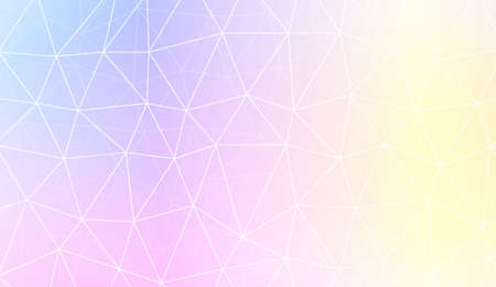 Decorative pattern with polygonal pattern with triangles style. For textures or wallpaper. Vector illustration. Creative gradient color