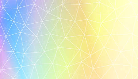 Modern geometrical abstract background with polygonal pattern with triangles elements Template for wallpaper, interior design, decoration, scrapbooking page. Vector illustration. Gradient color