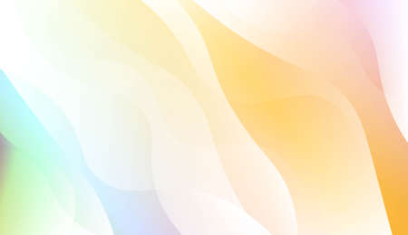 Abstract Background With Wave Gradient Shape. For Creative Templates, Cards, Color Covers Set. Vector Illustration with Color Gradient