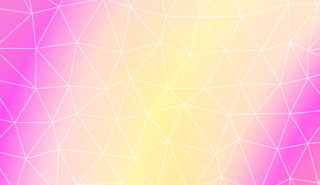 Decorative background with triangles. Modern design for you business, project. Vector illustration. Creative gradient color